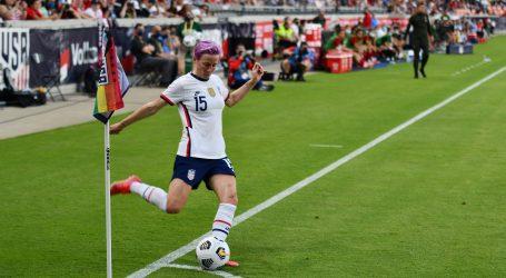El equipo de USA femenil se enfrentaron ante Portugal