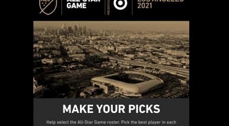 Se devela el proceso de selección para el MLS All-Star Game 2021 presentado por Target