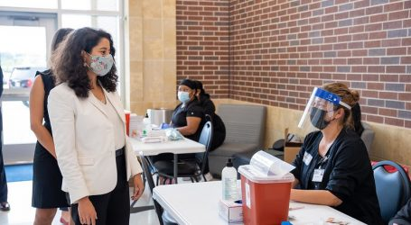 We reached a great milestone in our work to defeat the COVID-19 pandemic in Harris County