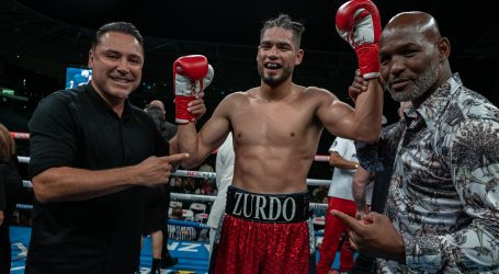 ZURDO RAMIREZ KNOCKS OUT SULLIVAN BARRERA IN FOUR