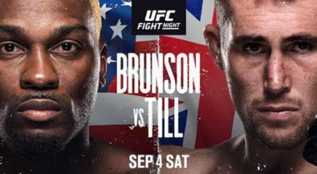 Pivotal Middleweight Matchup Headlines at UFC Apex