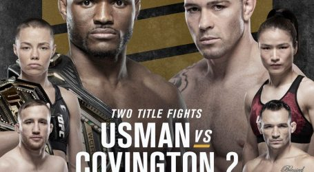 PAIR OF WORLD CHAMPIONSHIP REMATCHES  HEADLINE UFC®268
