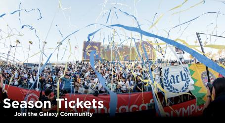 Las membresías de boletos de temporada 2022 del LA Galaxy ya están a la venta