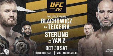 UFC®267: BLACHOWICZ vs. TEIXEIRA
