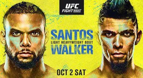 Light Heavyweight KO Artists Collide at UFC Apex