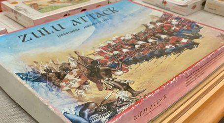 Zulu War Exhibit on Display at Thomas Balch Library