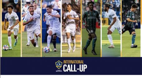 Siete jugadores del LA Galaxy han sido convocados a sus selecciones nacionales